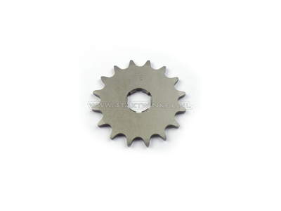Front sprocket, 415 chain, 20mm shaft, 16, Novio, Amigo, PC50