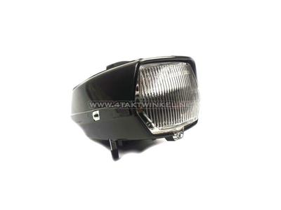 Headlight complete, Novio, Amigo, alternative, black + switch