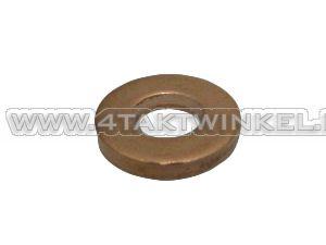 Ring 6mm, copper, thick, original Honda