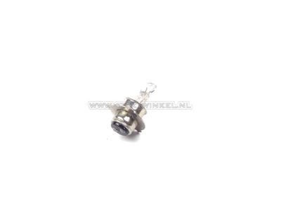 Bulb headlight P15d, dual, 6 volts, 25-25 watts, e.g. SS50 aftermarket socket