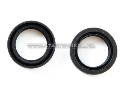 Front fork seals set 26-37-10,5 Dax aftermarket