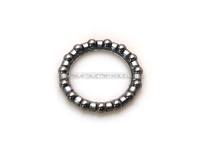 Steering bearing ball ring 3/16 SS50, CD50, C50, Dax, aftermarket