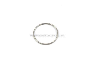 Front fork pipe clip / ring SS50, CD50, bottom, original Honda