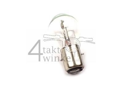 Bulb headlight BA20d, dual, 6 volts, 20-20 watts, e.g. Dax