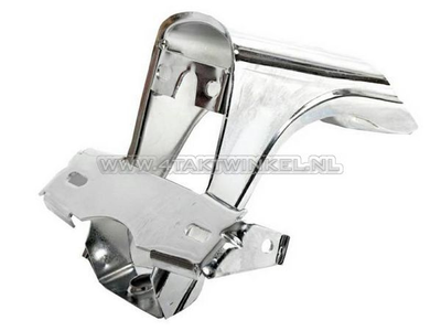 Taillight bracket Dax, chrome, aftermarket