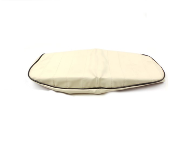 Seat cover Dax cream, black piping