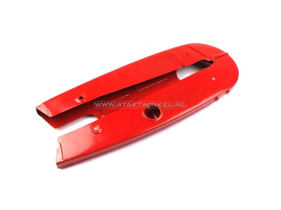 Chain guard set C50 OT high model, red, aftermarket