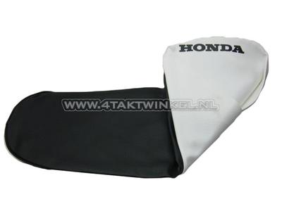 Seat cover C50 OT black / white, white all around