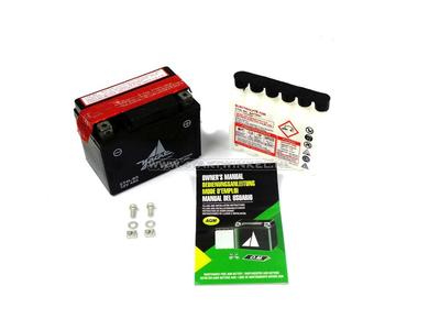 Battery 12 volt 4 ampere acid pack, CT4L-BS