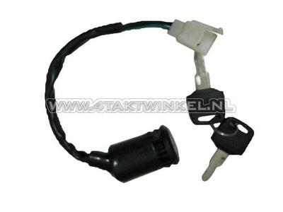 Ignition lock, C50 NT aftermarket