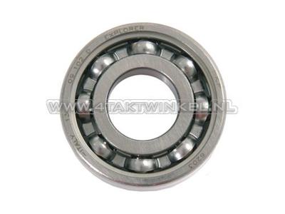 Bearing 6203, gearbox SS50, CD50, CB50 / crankshaft Novio, Amigo