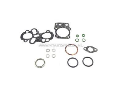 Gasket set A, head & cylinder, C310S, C320S, C100, original Honda