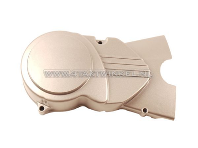 Ignition cover CDI universal, silver, long