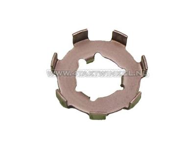 Clutch nut, locking plate large, original Honda