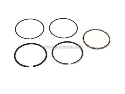 Piston rings 70cc GK4 / 126, 47.00 standard, original Honda