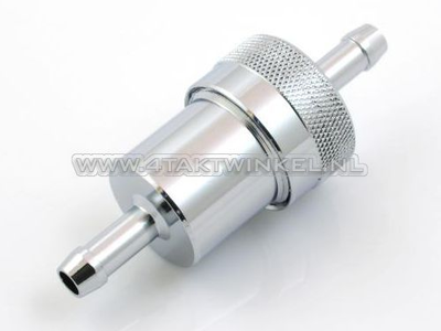 Fuel filter, cleanable, aluminum