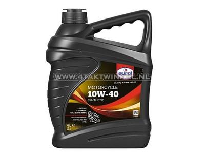 Oil Eurol 10w-40 semi-synthetic 4 liters