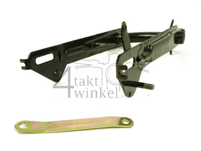Swingarm C50, low model, black, without supports, aftermarket
