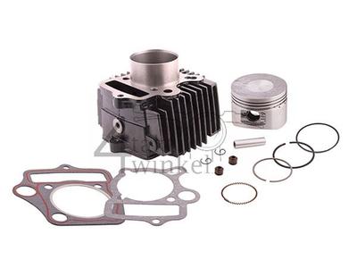 Cylinder kit, with piston & gasket 110cc, 52mm, aftermarket