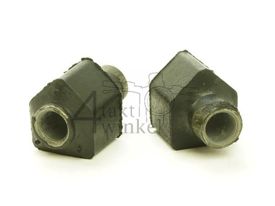 Shock absorber, suspension arm, bump stop, pair, C50, aftermarket