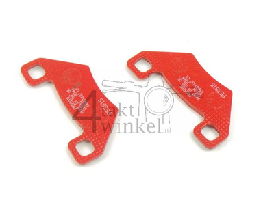 Brake pads Dax, with rear disc brake