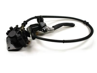 Caliper set + brake pump, alternative AGM cafe race, classic, Raw 50