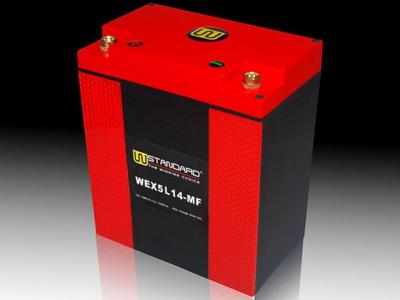Battery Lithium 12 volt 14 ampere R.