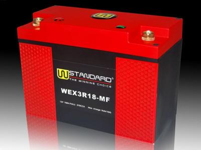 Battery Lithium 12 volt 18 ampere R.