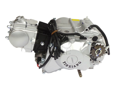 Engine, 85cc, semi-automatic, YX, 4-speed, with starter