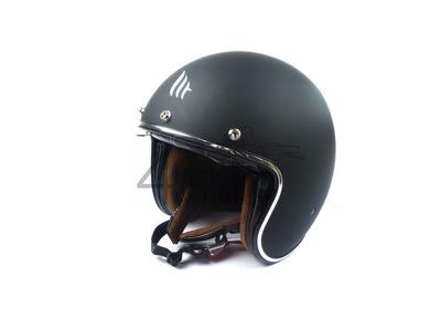 Helmet MT, Le Mans Speed, Matt black, Sizes S to XL