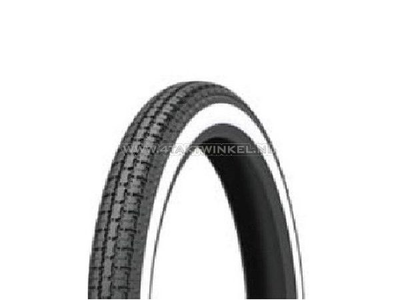 Tire 17 inch, Kenda 33L, 2.25, whitewall