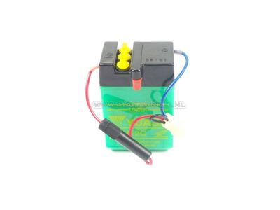 Battery 6 volt 2 ampere, Dax, NOS, original Honda