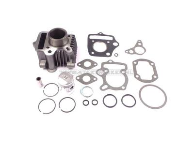 Cylinder kit, with piston & gasket 50cc, Honda OT, aluminum, Japanese