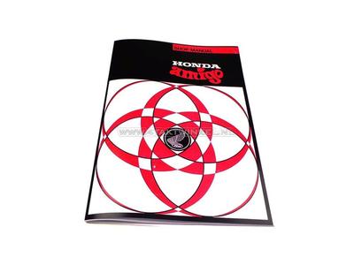 Workshop manual, Honda Amigo, Novio, A4, A choice
