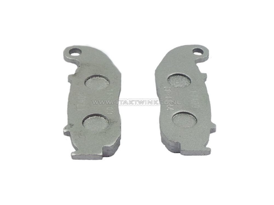 Brake pads, front, Skyteam Rocket, AGM caferacer luxury