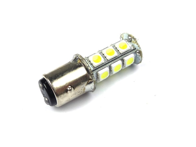 Rear bulb duplo BAY15D, 12 volt, LED, white, type 2 (long),