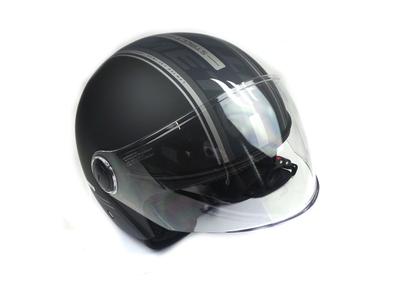 Helmet MT, Street, Matt Black, Sizes S to XL