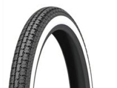 Tire 19 inch, Kenda, White-Wall 2.50