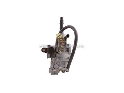 Carburettor C70, C90, 18mm, wide flange, cable choke