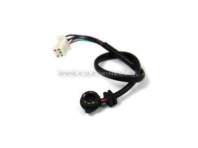 Neutral contact sensor, 1-N-2-3-4 bin