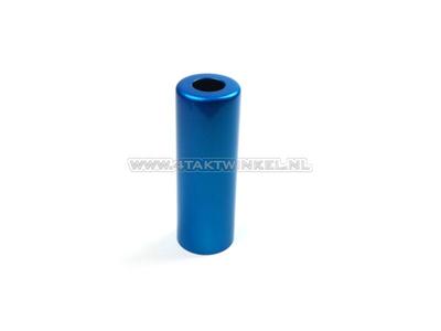 Shock absorber bush steel, SS50, CD50, alternative original Honda, blue
