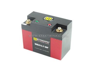 Battery Lithium 12 volt 7 ampere L.