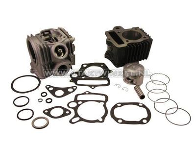 Cylinder kit, with piston & gasket & cylinder head 70cc, Honda NT, AGM, Hanway, Skyteam, etc. 49cc print