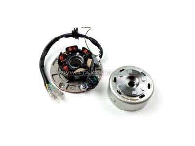 CDI ignition set 6v tap, SS50, CD50, C50 Dax, Takegawa flywheel