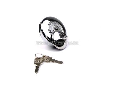 Fuel cap CD50, CL50 Novio, Amigo with lock, aftermarket