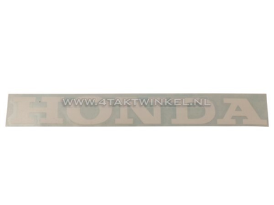 Sticker Honda universal 22cm white