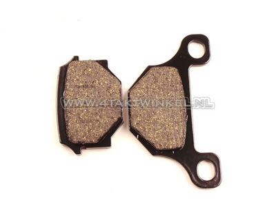 Brake pads, Mash Fifty, AGM caferacer, Lucas brand