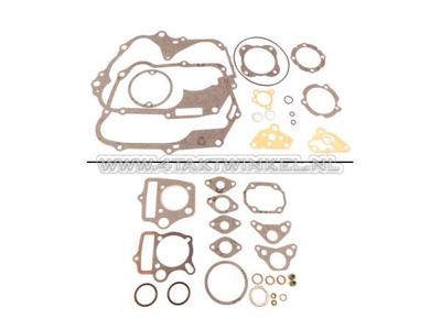 Gasket set AB, complete, 70cc, 85cc, C50, SS50, Dax, A-quality
