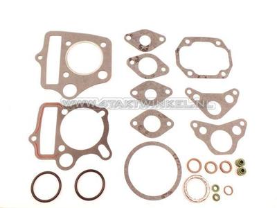 Gasket set A, head & cylinder, C50, SS50, Dax, 70cc, A-quality