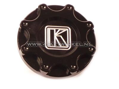 Fuel cap Monkey, CNC aluminum black